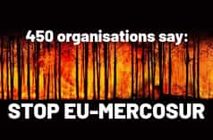 450 organisations say: STOP UE-MERCOSUR