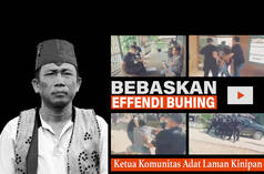 Freedom for Effendi Buhing! Montage