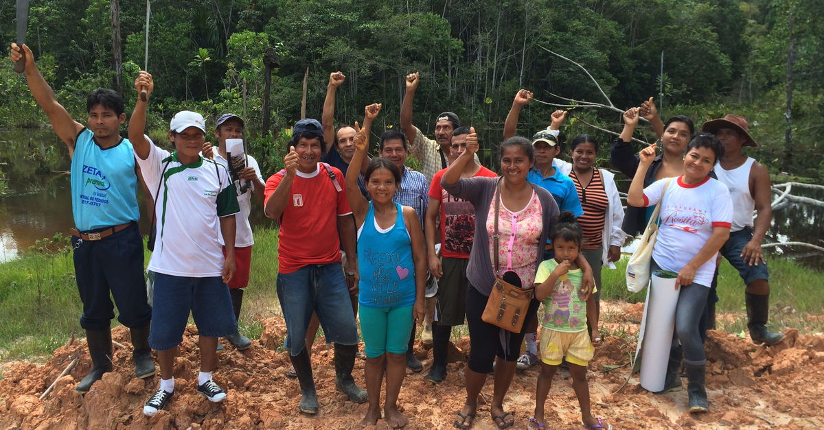 Peru: buying rainforest for a protected area - Rainforest ...