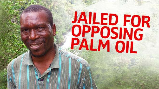 Nasako Besingi - Jailed for opposing Palm oil