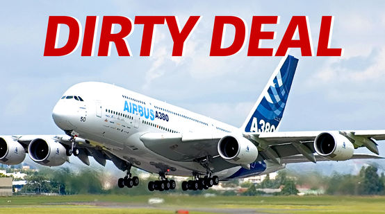 Airbus A380 - dirty deals with palm oil
