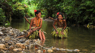 Indigenous women on Siberut