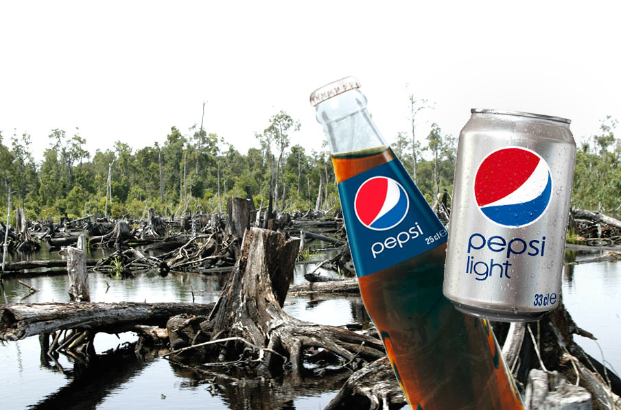 PepsiCo: trashing rainforests for 450,000 tons of palm oil a